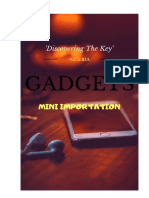 GADGET IMPORTATION