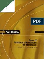 MODELOS ALTERNATIVOS DE FORMACIÓN