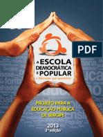 A escola democrática e popular_a educação que queremos
