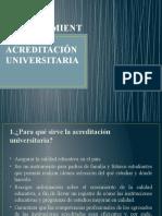 Licenciamiento y Acreditación Universitaria Ppt