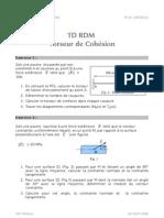 TD RDM-Torseur de cohésion