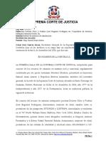 Emb Inmb - Nulidad de Sentencia - Limites de Agravios - No Compaecencia - Notificacion en El Extranjero - Deber - Reporte2013-855