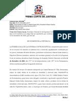 Ley 189 -11 - Casacion - Obligacion de Verificar Domicilio - No Hay Contrato - Domicilio en El Extranjero - Diferencia de Embargos - Reporte001-011-2018-RECA-01977