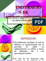 ADMINISTRACION DE MEDICAMENTOS HD