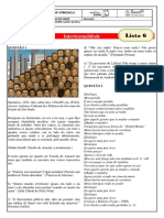monitoria - lista 6 - intertextualidade