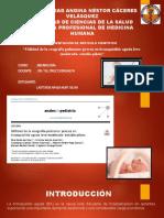 REVISION DEL ARTICULO CIENTIFICO-UTILIDAD DE LA ECOGRAFÍA PULMONAR PRECOZ EN BRONQUIOLITIS AGUDA LEVE-MODERADA:ESTUDIO PILOTO- LASTEROS APAZA NURY SILVIA