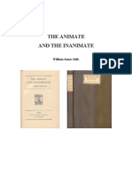 The Animate and the Inanimate - William James Sidis