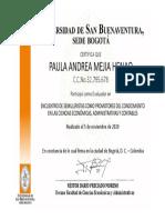Paula Andrea Mejía Henao - Evaluador
