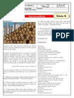 monitoria - lista 6 -gabarito