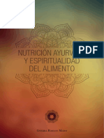 NUTRICION AYURVEDA Y ESPIRITUALIDAD DEL ALIMENTO.pdf