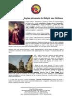 Luisa Maria d'Orléans la regina più amata dei Belgi è una siciliana