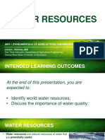 3a. Water Resources