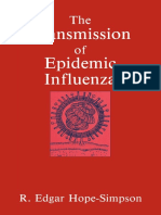 The Transmission of Epidemic Influenza by R. Edgar Hope-Simpson (1992)(257pp).pdf