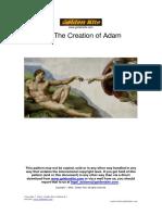 Golden Kite -  The Creation of Adam