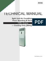 Floor Standing B Series Technical Manual