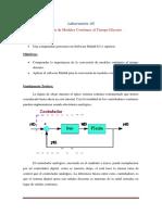 Lab 05 transformacion de sistemas continuos a discretos