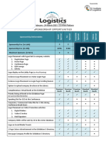 Logistics 2021 - Sponsorship Opportunities