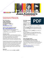 Jammers enews 16 February 2011