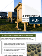 a industria nas áreas rurais