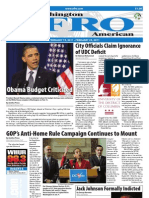 Washington D.C. Afro-American Newspaper, February 19, 2011