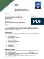 CV (Fabrication) Muhammad Hassan Nov 2020
