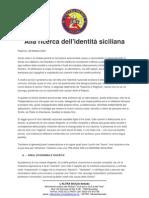 Alla ricerca dell'identità siciliana