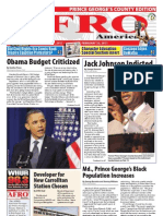 Prince George's County Afro-American Newspaper, February 19, 2011