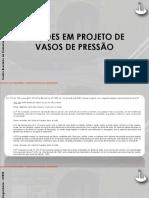 IVP - M2 - Slide - Noções Em Projeto de Vasos de Pressão - Parte 2