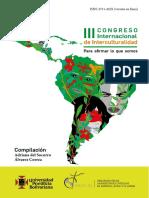 2020_Memorias_Congreso Internacional de interculturalidad