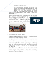 Características del voleibol de playa
