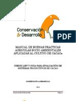 Manual de Buenas Practicas Agricolas Para El Cultivo Del Cacao 20ene11, Good agricultural practices for cocoa cultivation manual 20ene11, Make a donation@ccd.org.ec / Haga una donación