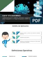 CAPACITACION R.M N° 972-2020-MINSA