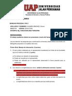 TRABAJO ACADEMICO-DERECHO PROCESAL CIVIL I-2018107405