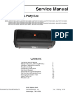 Party Box 200 and 300 - Service Manual v1.5