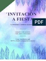 INVITACIÓN evento erotuir