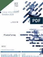 Tableau de Bord Portnet - Octobre 2020