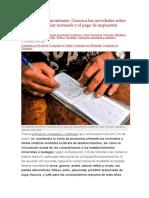 3 Conozca las novedades sobre la CANASTA FAMILIAR NORMADA Y EL PAGO DE IMPUESTOS