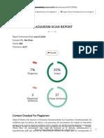 Plagiarism Checker Report - A Free Online Plagiarism Detector4