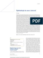 Épidémiologie du cancer colorectal