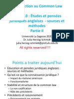 Leçon 10- Education et pensées juridiques anglaises-part II-french (1)