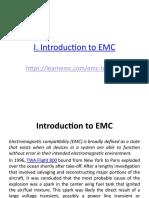 1 Introduction EMC