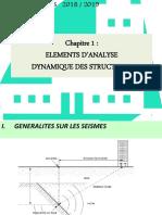 Sismique - Chap 1 et 2