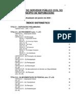 ESTATUTO DO SERVIDOR PÚBLICO CIVIL DO MUNICÍPIO  DE  NEPOMUCENO - COMPILADO E ATUALIZADO.pdf