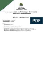 CoPar - 1000742-85.2020.5.00.0000