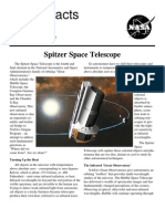 NASA Facts Spitzer Space Telescope
