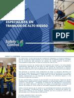 01 Especialista Trabajos Alto Riesgo - Safety Control