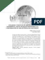 Discursos y Políticas migratorias en Sudamerica