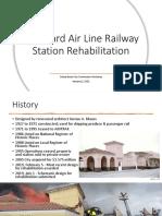 Seaboard Air Line Railway Station Rehabilitation Proposals