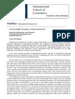 Syllabus ASEU Economic law