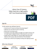 Wowza IP Camera Webinar